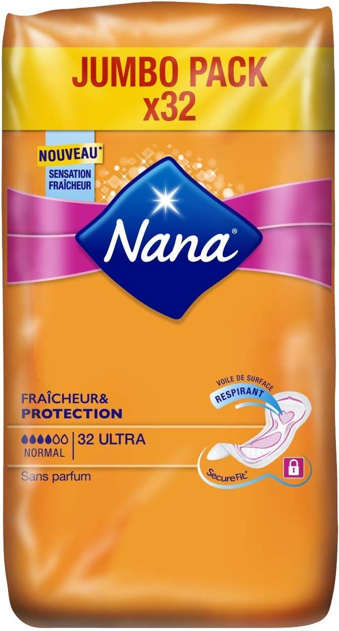 32 serviettes Nana Ultra Normal Serviette hygi/énique