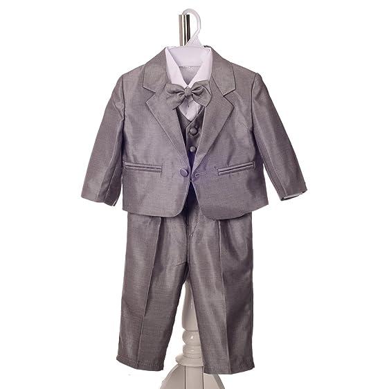 Amazon.com: Dressy Daisy Baby Boys\' 5pc Set Formal Suits ...