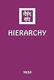 Hierarchy (English Edition)