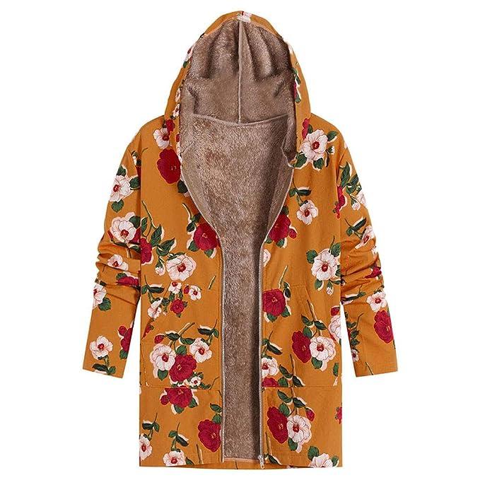 Damen Winter gefüttert Wintermantel Jacke Kapuzenjacke Hoodie Parkas Trench Coat