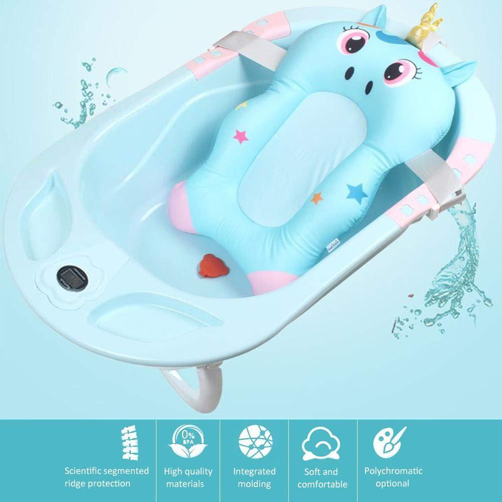 Per Asientos de Bañera para Bebés Cojines Antideslizantes de Ducha Infantiles Hamacas Infantiles de Bañera para Bebés Recién Nacido Forma de ...