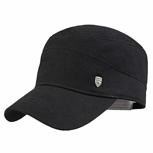 1f71416fd70 Men Baseball Cap Hats sun hat Boating Hat Sailing sea cap Solid ...