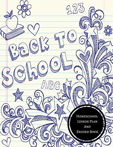 Homeschool Lesson Plan And Record Book: Homeschool Log pdf epub