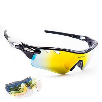 Amazon.com: Sunbike POLARIZE - Gafas de sol deportivas para ...