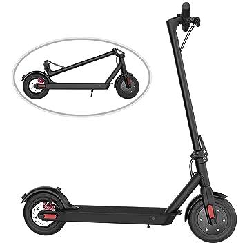COLORWAY Scooter Eléctrico Plegable 8.5 Pulgadas Patinete Electrico Adulto Batería de Largo Alcance