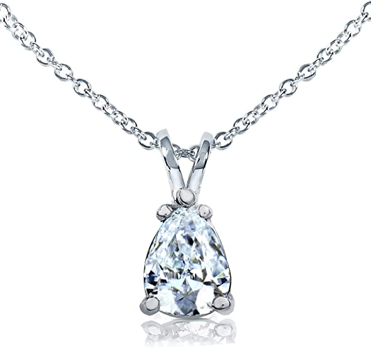 Charles and Colvard Forever One DEF Moissanite 8X5mm Pear Shape With Certificate