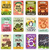 Mushy Moments Baby Milestone Photo Cards Gift Set. Complete...
