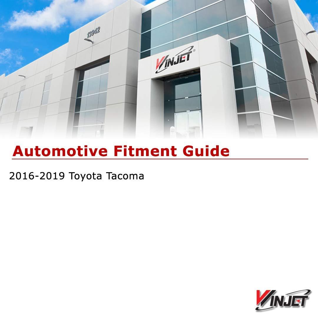 Renewed 2016-2019 Toyota Tacoma Driving Fog Lights Wiring Kit Switch Winjet WJ30-0448-09 OEM Series for