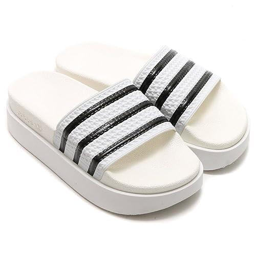 newest collection fce5d 1d046 Adidas Originals Women s adilette Bold Slides S75214,10  Amazon.ca  Shoes    Handbags