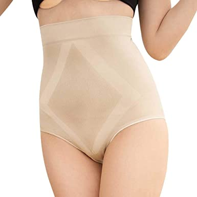 79dbbeec3 LVYING Women s Shapewear Panties High Waist Tummy Body Shaper Slimming  Briefs Control Pants Breathable Underwear at Amazon Women s Clothing store