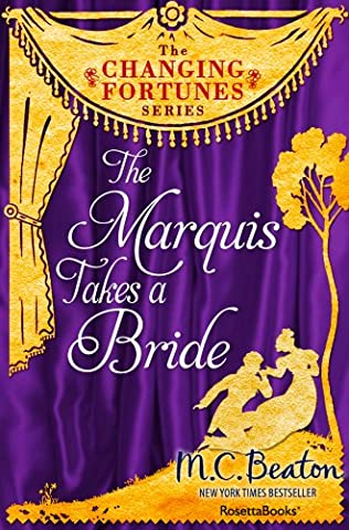 book cover of The Marquis Takes a Bride