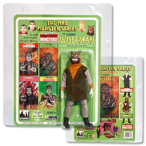 2012 Action Figure (Mad Monsters The Human Wolfman 8 inch action figure (2012))