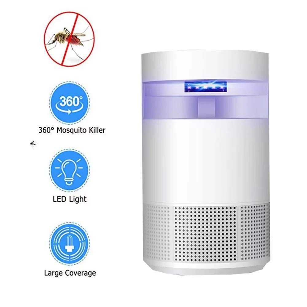 Bug Zapper Ricaricabile per Interni Zapper Zapper Protable Electronic Insect Zanzara Killer Lamp per Home Office