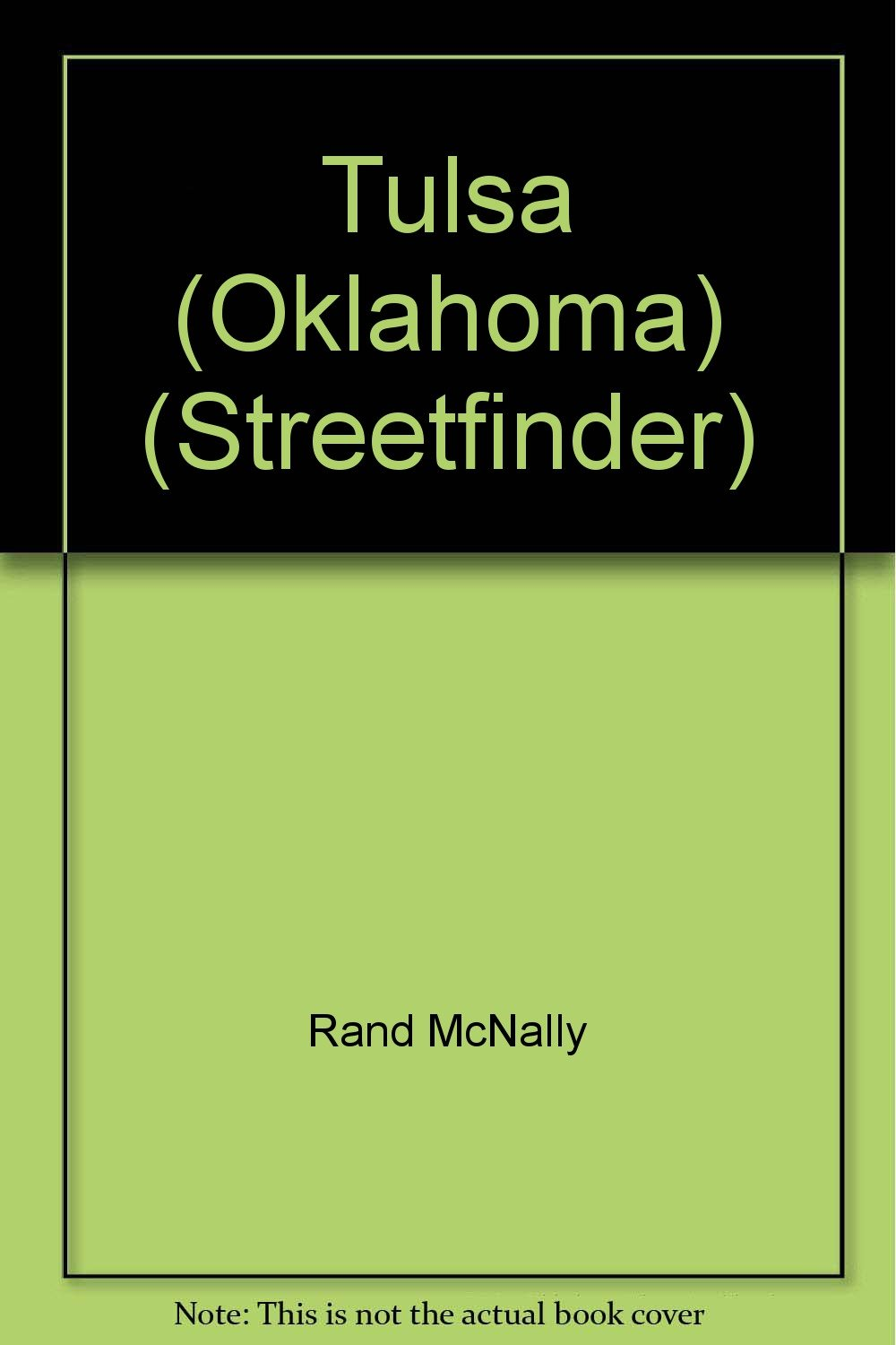 Rand McNally Tulsa and Vicinity Streetfinder (Streetfinder Atlas)