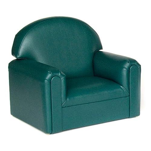 Brand New World Toddler Premium Vinyl Upholstery Chair – Teal