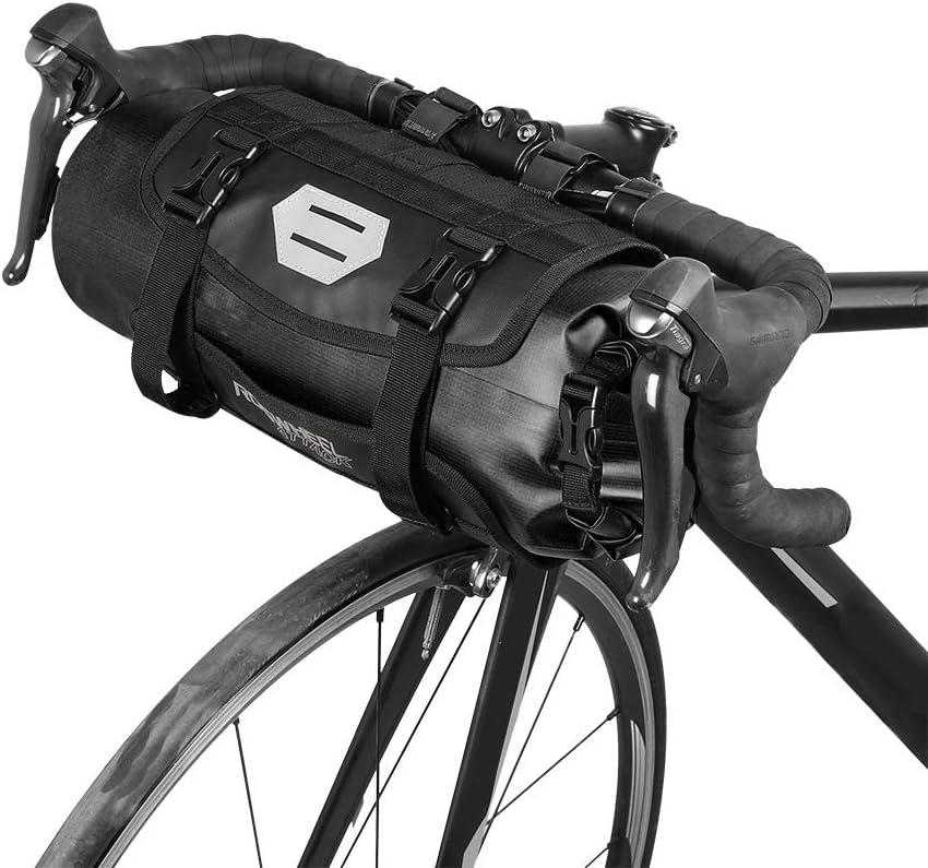 Lixada Bicicleta Bolso Impermeable Ciclismo Mountain Road MTB Bicicleta Delantero Marco Manillar Maleta Seca con Cierre