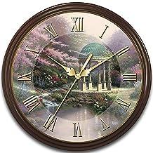 Thomas Kinkade's Times Of Splendor 25th Anniversary Commemorative Wall Clock by The Bradford Exchange