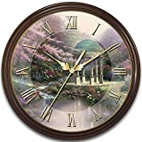 Thomas Kinkade's Times Of Splendor 25th Anniversary Commemorative Wall Clock by The Bradford Exchange