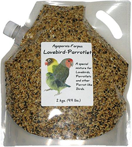 Penn Seed Lovebird-Parrotlet, 2 kg (4.4 lbs) Pour Spout Bag