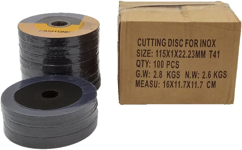 100 Pack 4.5x.040x7//8 Quality Thin Cut Off Wheel Metal /& Stainless Steel