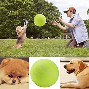 Groten Tennis Ball Kugel große riesige Hund Welpen Thrower Chucker Launcher...