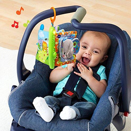 616HISjOqqL - VTech Peek & Play Baby Book Toy
