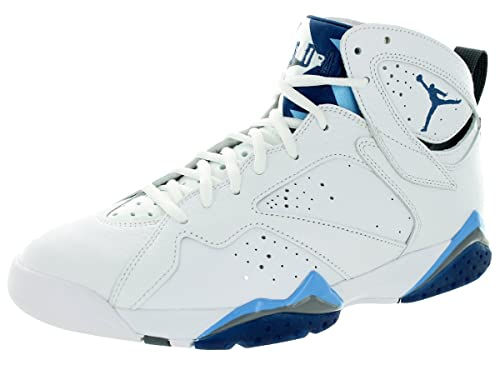 detailed look b43f7 a2769 Nike - Air Jordan 7 Retro - Color  Blue-White - Size  12.0  Amazon.co.uk   Shoes   Bags