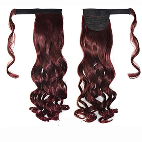 Amazon Alonea Real New Clip In Human Hair Extension Curly Pony