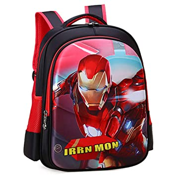 Mochila para Niños Anime 3D Cartoon School Bag Impermeable Durable Ligero Respirable Junior Mochila,Ironman-L(42 * 29 * 15cm): Amazon.es: Hogar