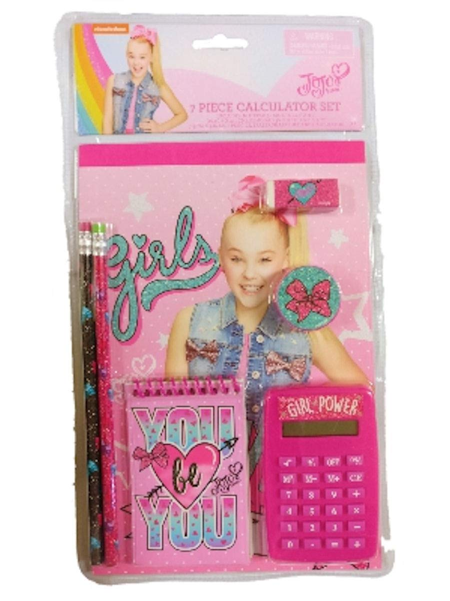 JoJo Siwa 7 Piece Calculator Set Tri Coastal Designs