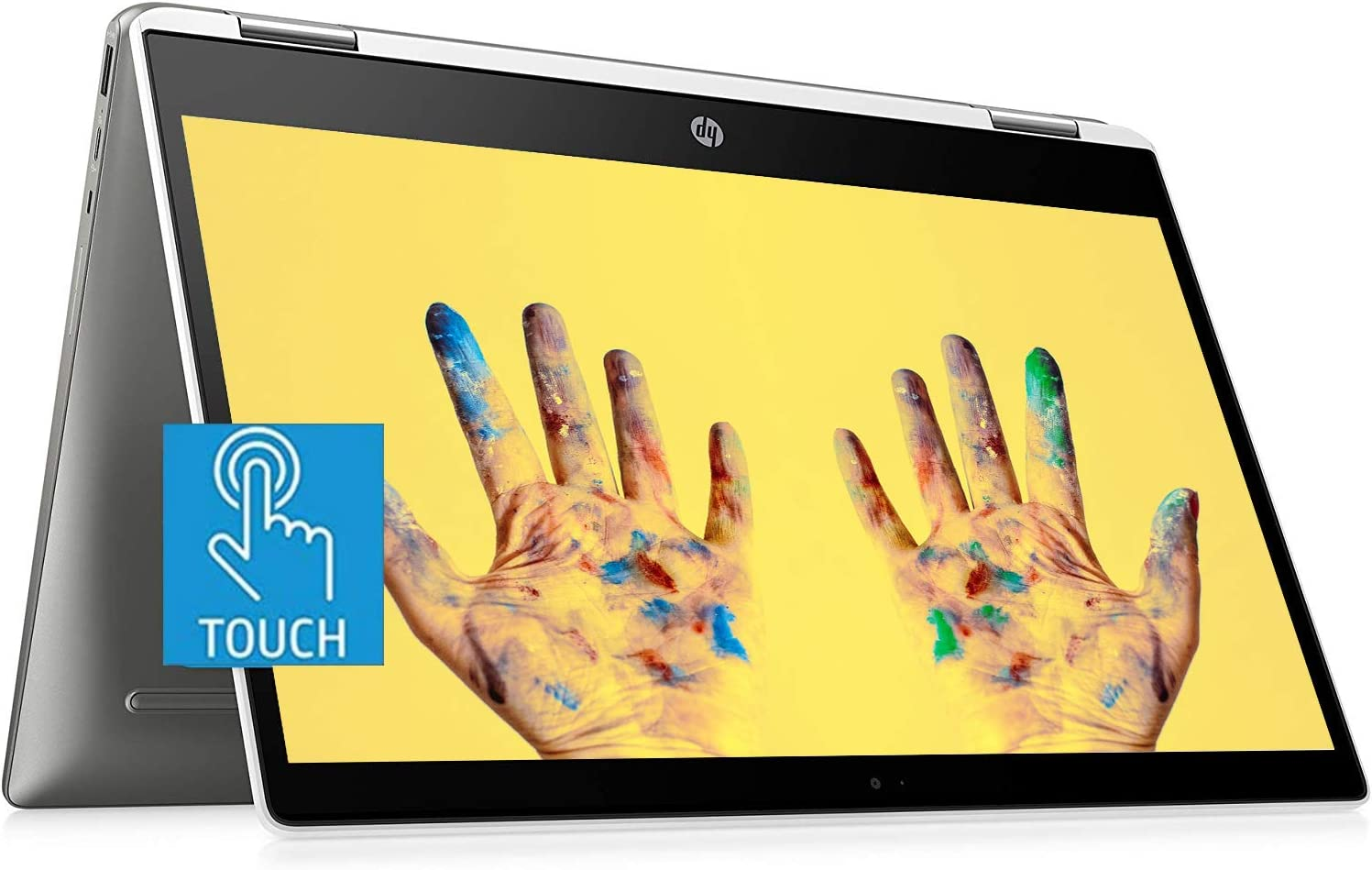 Flagship HP X360 Chromebook 2-in-1 Laptop, 14