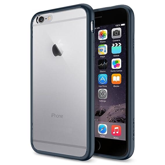 online store c83ab 28389 Spigen Ultra Hybrid Designed for Apple iPhone 6s Case/Designed for iPhone 6  (2014)- Black
