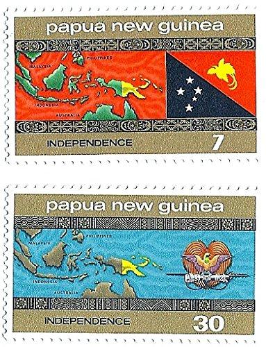 Papua New Guinea 1975 Independence Set MNH Scott #294, 295.