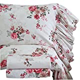 Queen's House Queen Set Bed Sheets Sets Cotton-Style J