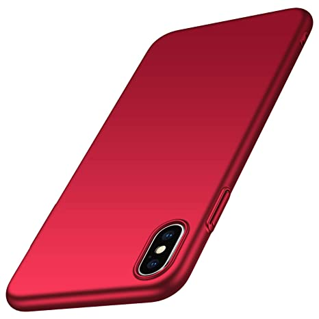 coque iphone xs max rouge