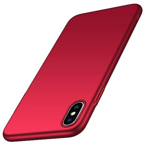 coque iphone xs rouge apple