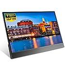 EVICIV 13.3インチ超薄型/モバイルモニター/モバイルディスプレイ/IPSパネル/狭額デザイン/USB Type-C/ミニHDMI/スタンド付 EVC-1302