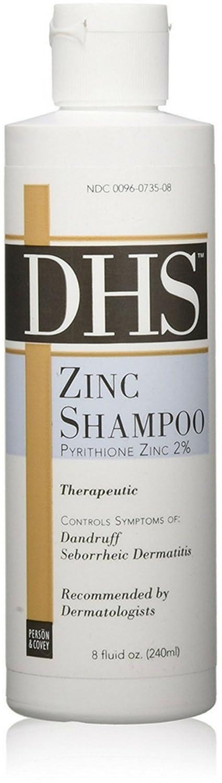 Zinc Shampoo, Dhs 16oz (Pack of 2)