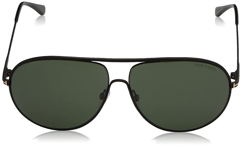 952f35959413c Amazon.com  Tom Ford Aviator Sunglasses TF450 Cliff 02N Matte Black FT0450  Tom  Ford  Clothing
