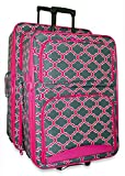 Ever Moda Moroccan 2 Piece Luggage Set (Pink)