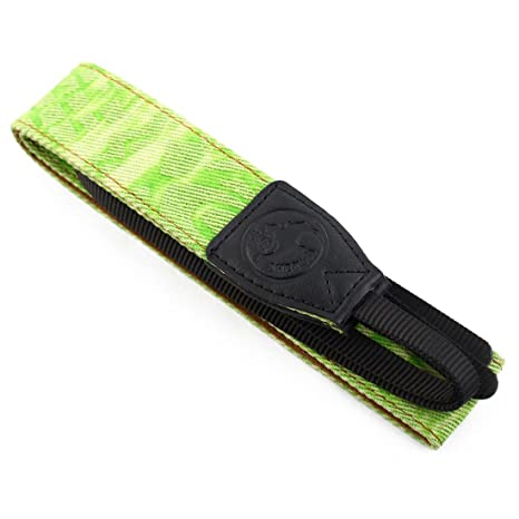 Amazon.com: eDealMax SHETU autorizado cámara Occidental impresión antideslizante hombro Correa Para el Cuello Verde Para SLR: Electronics