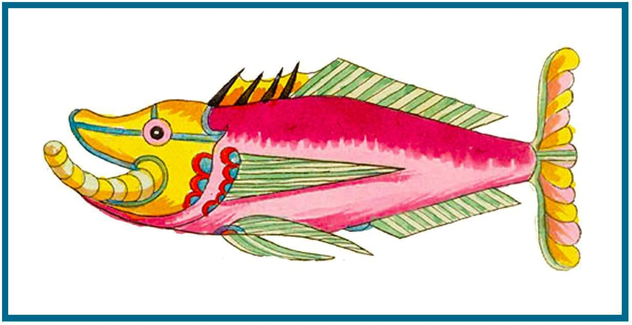 Fallour/'s Renard/'s Colorful  Crab # 2 Counted Cross Stitch Chart Pattern