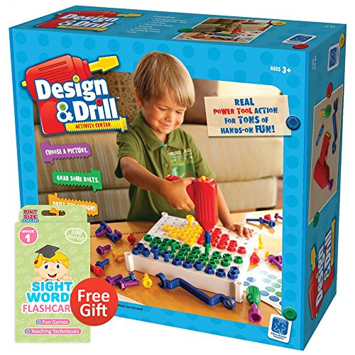 Design and Drill Activity Center with Your Choice of