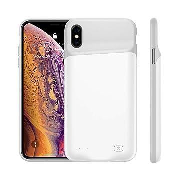 FAMOBIE Funda Batería para iPhone XS MAX 5200mAh, Funda ...