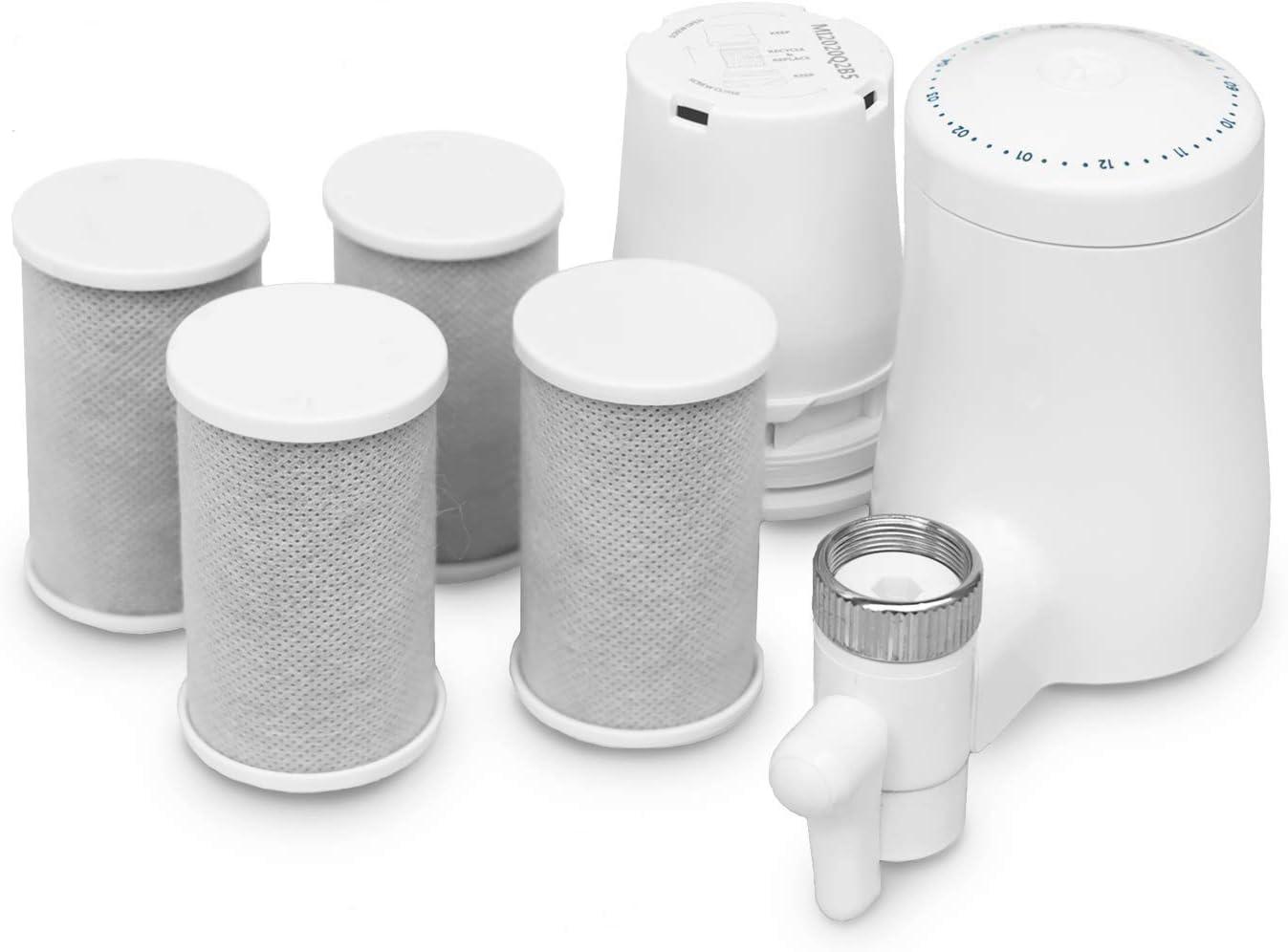 TAPP Water TAPP 2 Twist - Pack Anual - Filtro de Agua para Grifo sostenible (Filtra Cal, Cloro, Plomo, microplásticos) Filtro Cocina: Amazon.es: Hogar