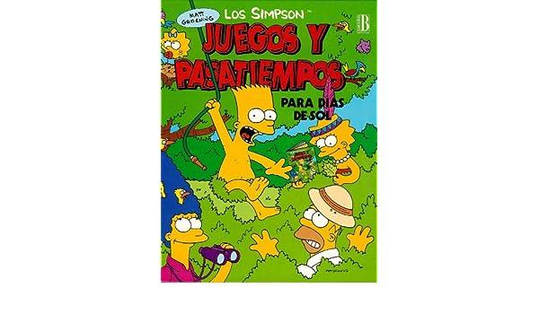 Amazon.com: Simpson - Juegos y Pasatiempos Para Dias Sol ...