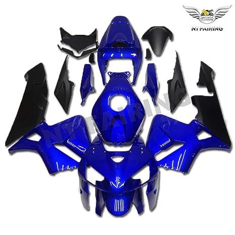 Amazon Com New Blue Black Fairing Fit For Honda 2005 2006 Cbr600rr