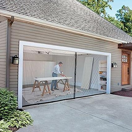 2 Car Garage Screen Kit 16 W X 7 Tall