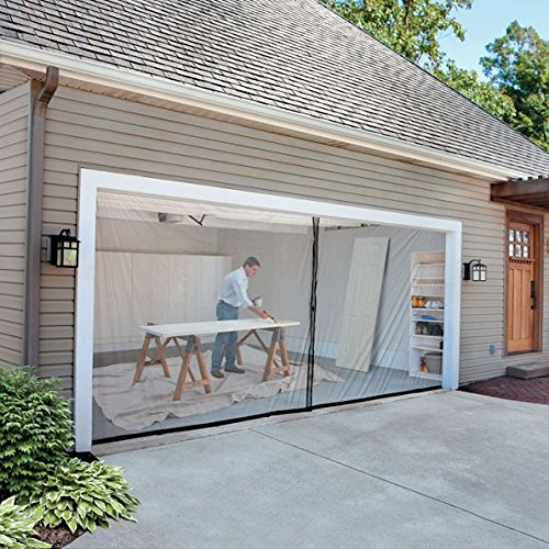 (2-Car-Garage Screen Kit (16' W x 7' tall) )