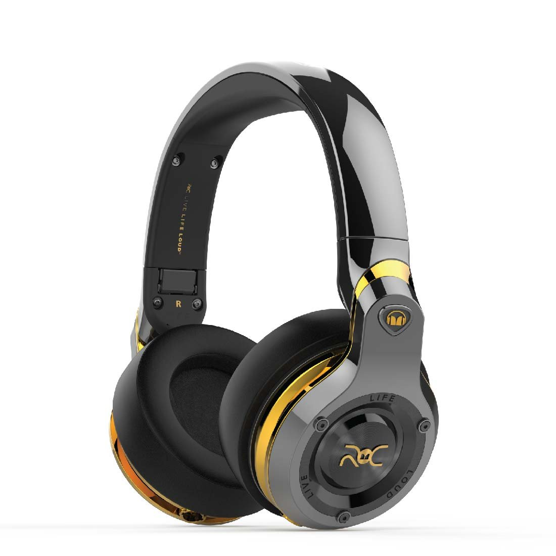 Auriculares Monster ROC Sport Over-Ear - Negro Platinum
